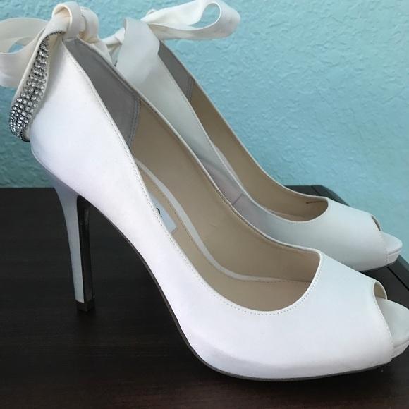 8d8a88be609 Nina size 8.5 wedding shoes